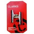 Тормозные колодки-картриджи + сменные резинки XTR 70мм симметр. с крепежом CP513 CLARKS