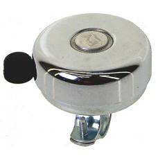 Звонок сталь D=59мм сильный звук защита от дождя серебр.