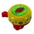 Звонок сталь/пластик детский с 3D-рисунком 6 цветов в ассорт. M-WAVE