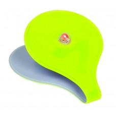 Клипса светоотражающая, магнитная на одежду/рюкзак и т.п., желтая, M-WAVE
