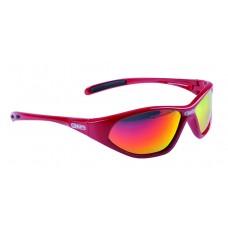 Очки солнцезащ. детские красная оправа иридиевые линзы MIGHTY